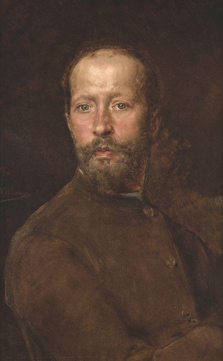 José Villegas Cordero~Self portrait - Artmaster
