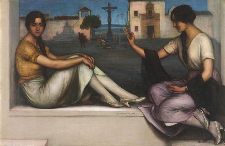 Julio Romero de Torres~The Fortune-t - Artmaster