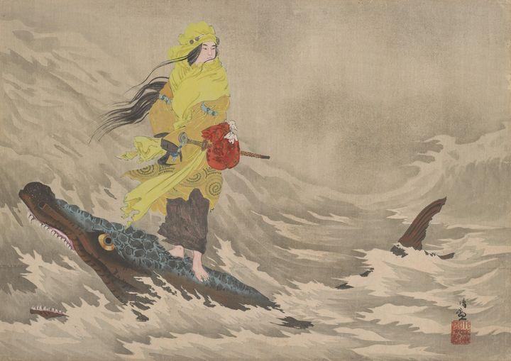 Kobayashi Kiyochika~Hiko-hohodemi ri - Artmaster