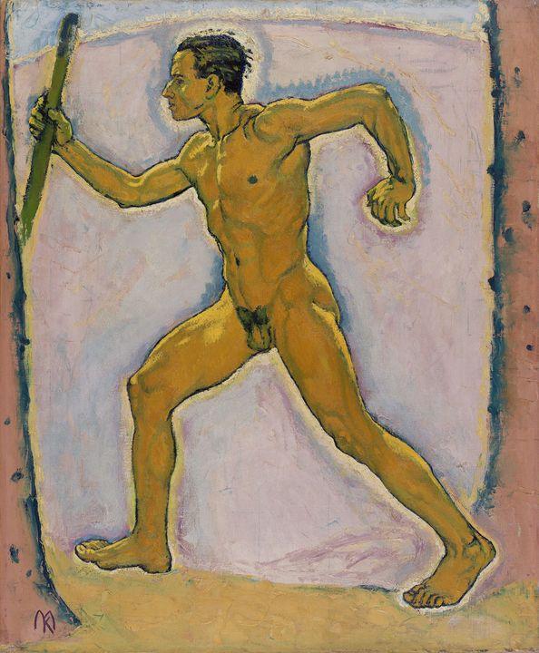 Koloman Moser~The Wayfarer - Artmaster
