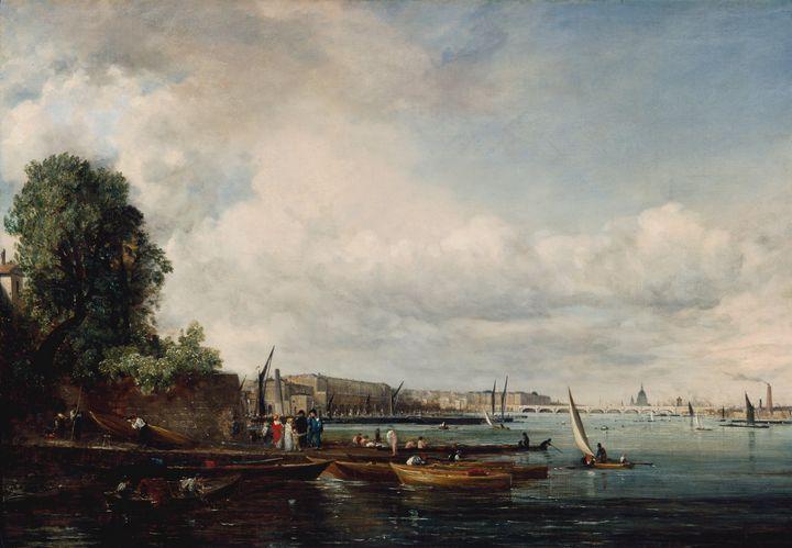 John Constable~Waterloo Bridge - Artmaster