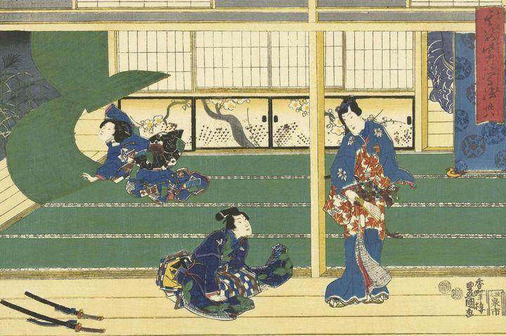 Kunisada~Hoofdstuk 38 - Artmaster
