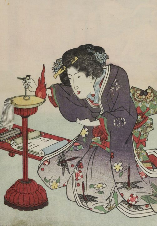 Kunisada~Hyakki yakō - Artmaster