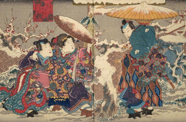 Kunisada~Illustrated books - Artmaster