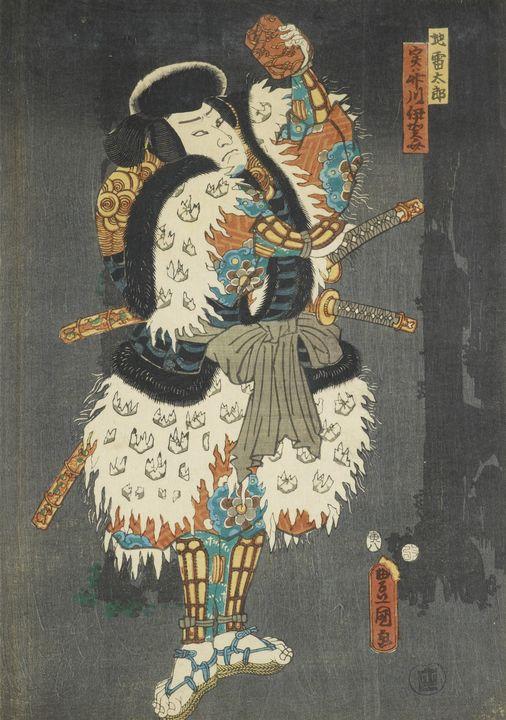 Kunisada~Kabuki actor in role of Jir - Artmaster
