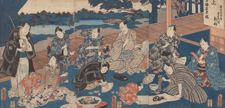 Kunisada~Kobuku-choja - Artmaster