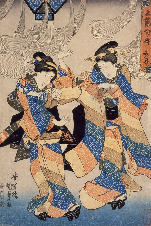 Kunisada~Tanabata Festival Dance - Artmaster