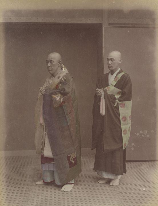 Kusakabe Kimbei~Buddhist Priests - Artmaster