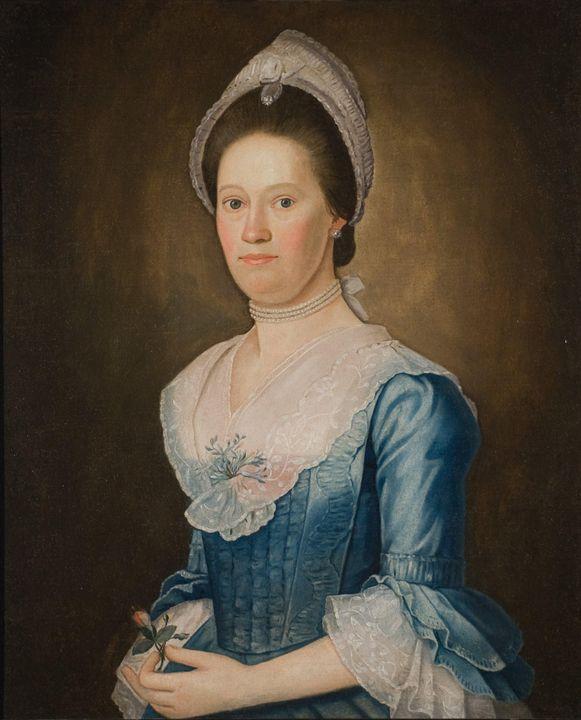 John Durand~Portrait of Elizabeth Ri - Artmaster