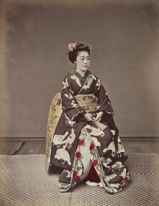 Kusakabe Kimbei~[Seated Woman] - Artmaster