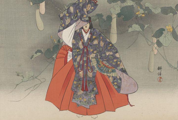 Kōgyo Tsukioka~Lady Yugao - Artmaster