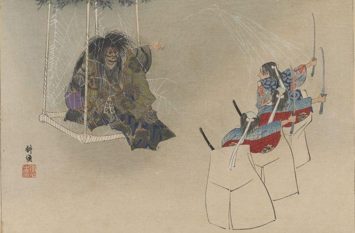 Kōgyo Tsukioka~The Spider Monster In - Artmaster