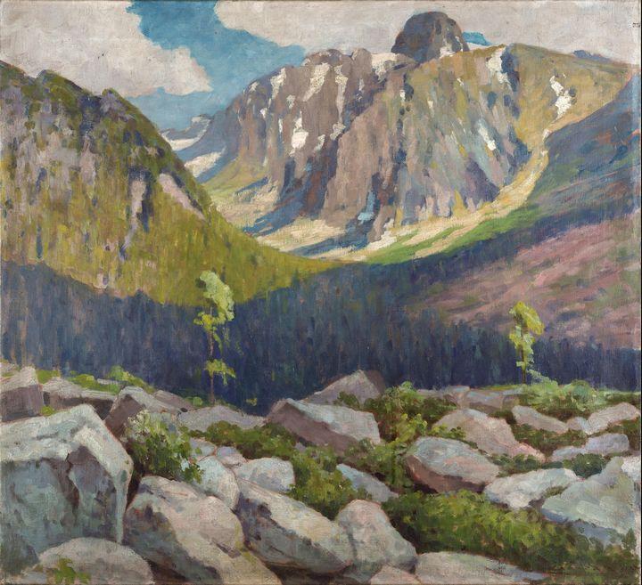 Lajos Csordák~Lomnicky peak - Artmaster