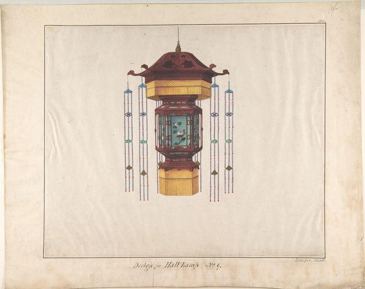 Lam Qua~Design for Hall Lamp No.9 - Artmaster