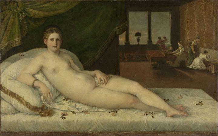 Lambert Sustris~Reclining Venus - Artmaster
