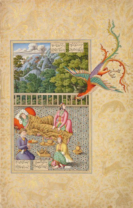 Late 16th Century~Simurgh Assisting - Artmaster