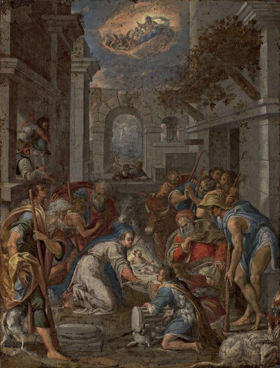 Lavinia Fontana~Adorazione dei pasto - Artmaster