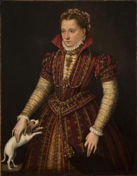 Lavinia Fontana~Portrait of a Noblew - Artmaster