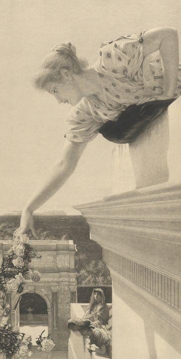 Lawrence Alma-Tadema~God Speed - Artmaster