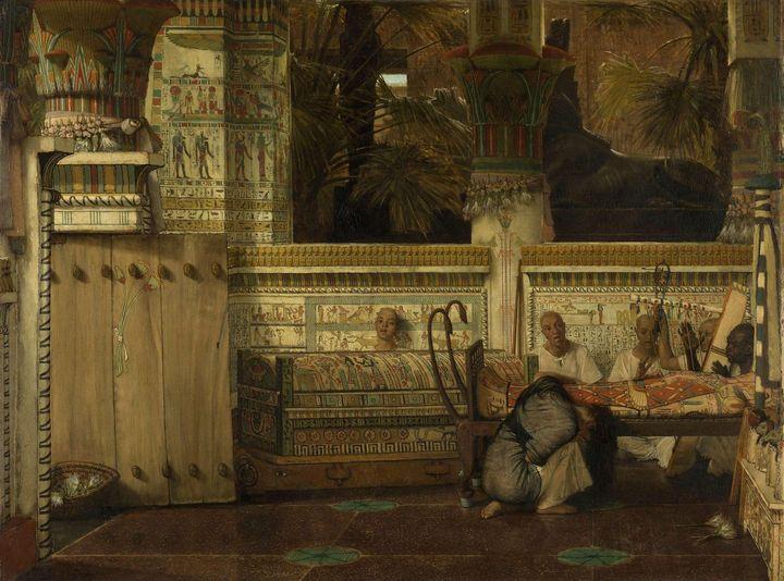 Lawrence Alma-Tadema~The Egyptian Wi - Artmaster