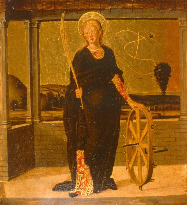 Lazzaro Bastiani~Saint Catherine of - Artmaster