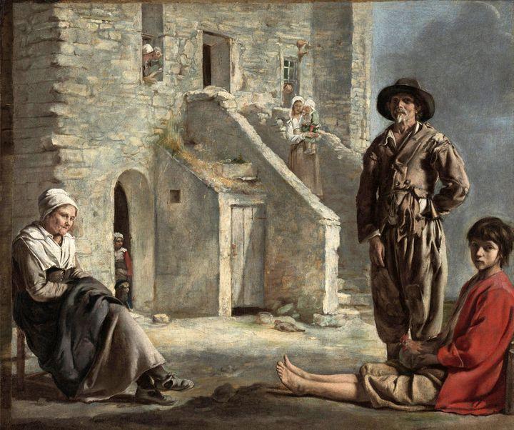 Le Nain, Louis Le Nain~Peasants Befo - Artmaster