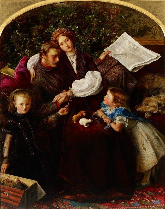 John Everett Millais~Peace Concluded - Artmaster