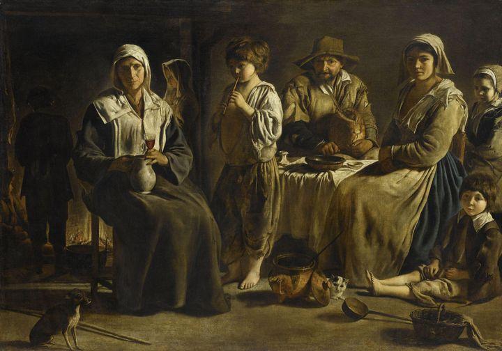 Le Nain~Peasant Family in an Interio - Artmaster