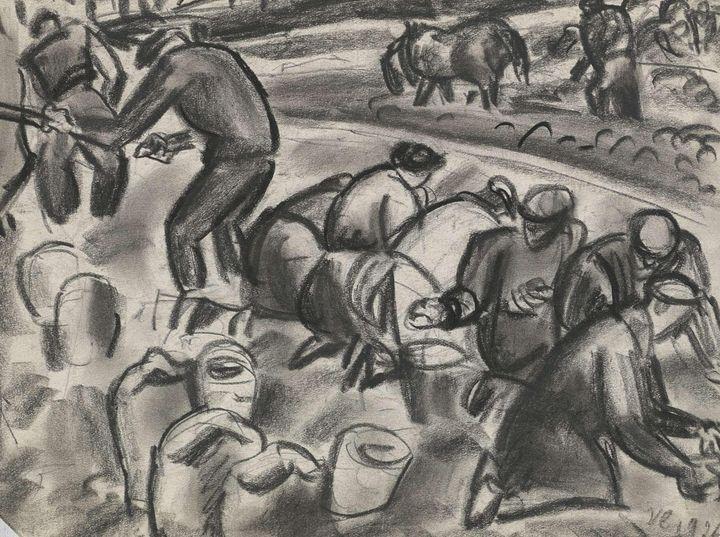 Leo Gestel~Zonder titel Aardappelroo - Artmaster