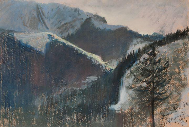 Leon Wyczółkowski (1852-1936)~Mounta - Artmaster
