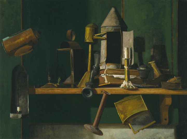 John F. Peto~Lamps of Other Days - Artmaster