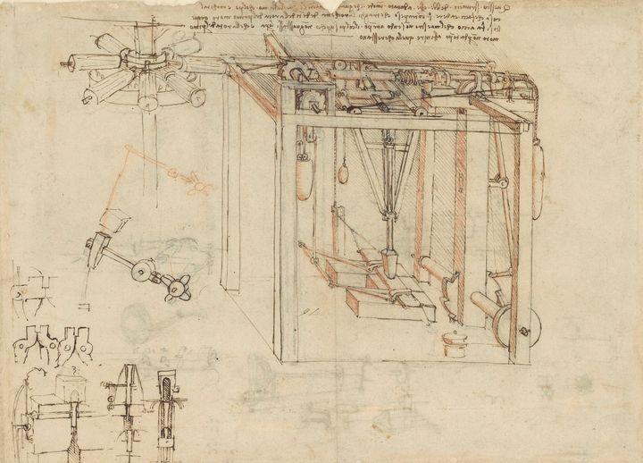 Leonardo da Vinci~Atlantic Codex (Co - Artmaster
