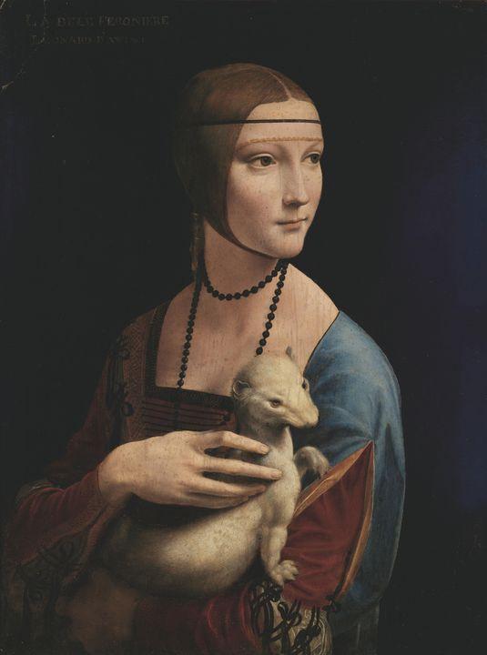 Leonardo da Vinci~Lady with an Ermin - Artmaster