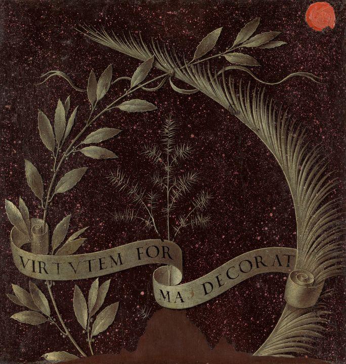 Leonardo da Vinci~Wreath of Laurel, - Artmaster
