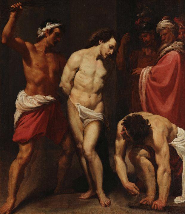 Leonello Spada~Flagellation of Chris - Artmaster