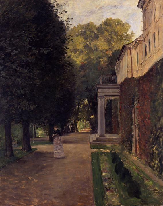Leopold Graf von Kalckreuth~Castle K - Artmaster