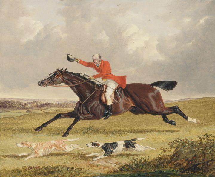 John Frederick Herring, Sr.~Foxhunti - Artmaster