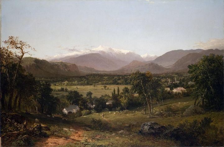 John Frederick Kensett~Mount Washing - Artmaster