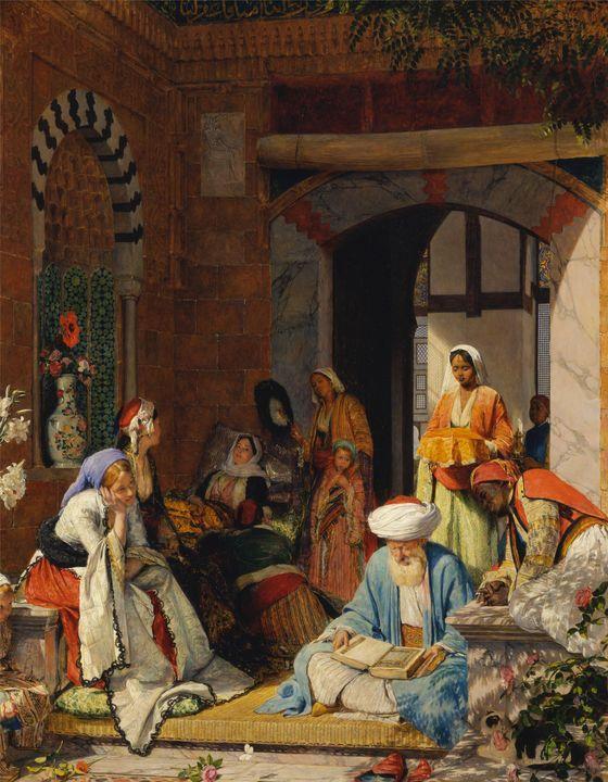 "John Frederick Lewis~""And the Prayer - Artmaster"