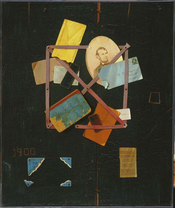 John Frederick Peto~Old Time Card Ra - Artmaster