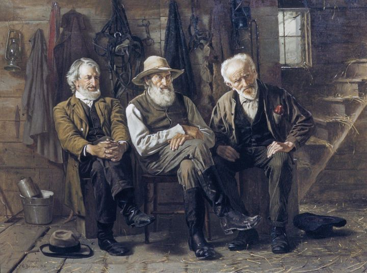 John George Brown~To Decide the Ques - Artmaster