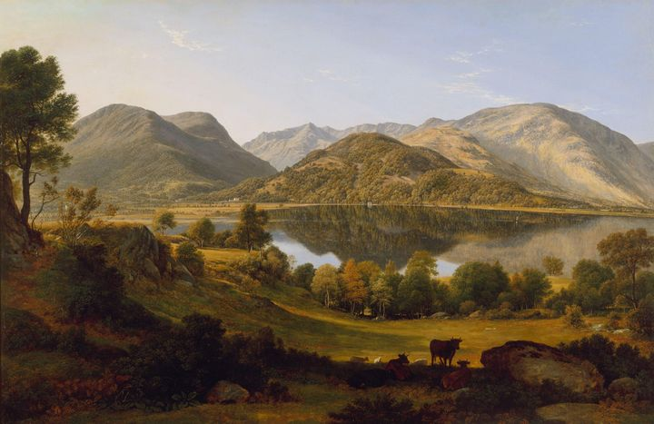 John Glover~Ullswater, early morning - Artmaster
