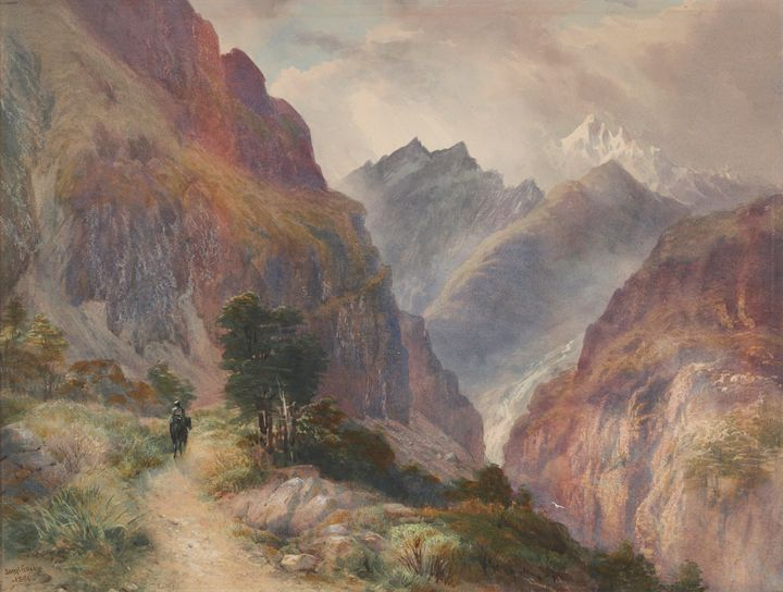 John Gully~In the Southern Alps - Artmaster