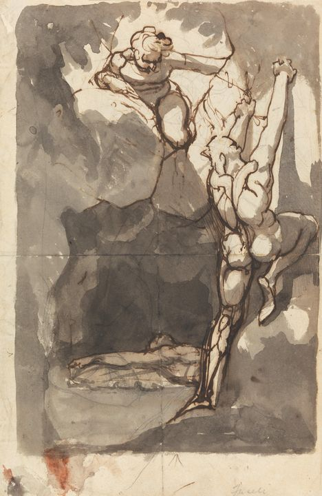 John Henry Fisley~Study for the'Find - Artmaster