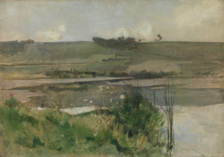 John Henry Twachtman~Arques-la-Batai - Artmaster