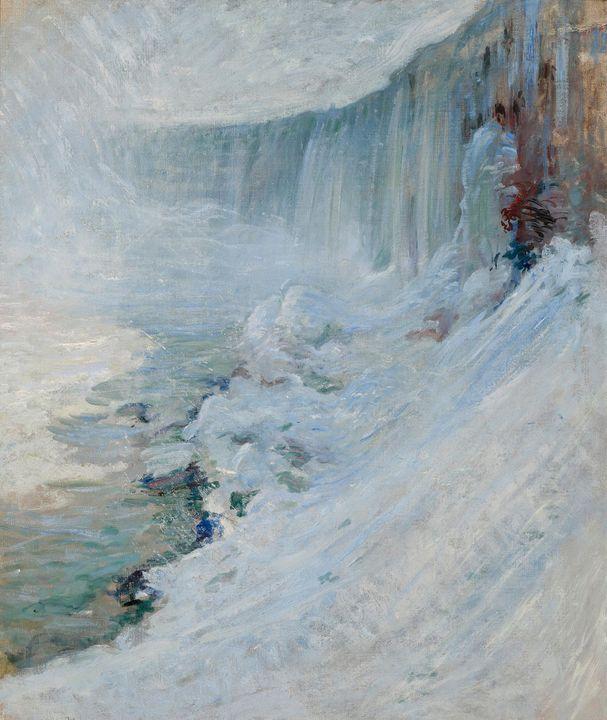 John Henry Twachtman~Horseshoe Falls - Artmaster