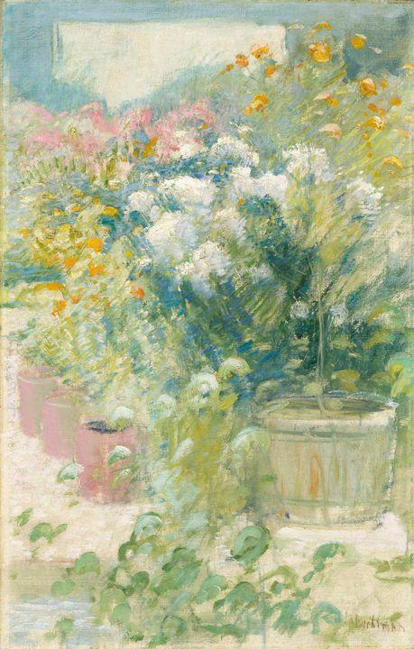 John Henry Twachtman~In the Greenhou - Artmaster