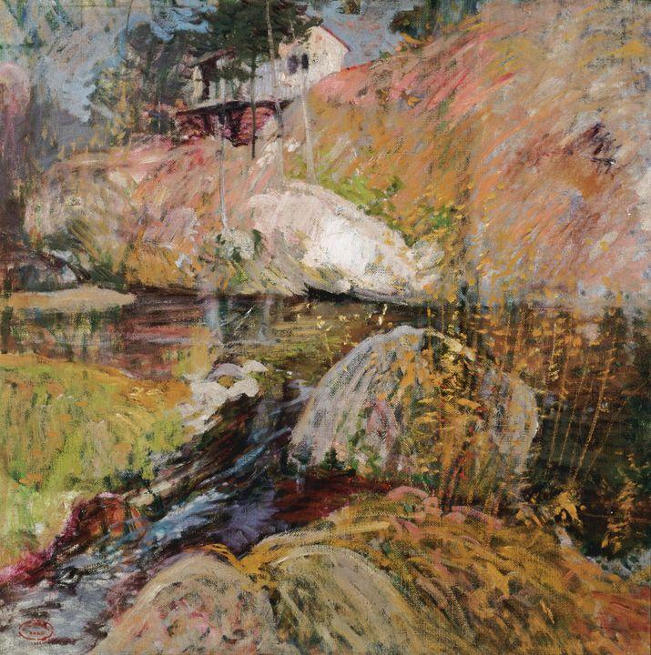John Henry Twachtman~My Summer Studi - Artmaster