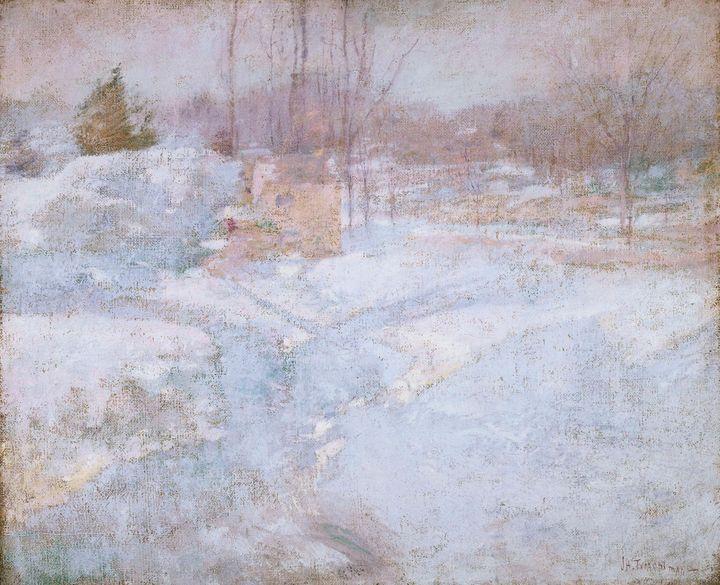 John Henry Twachtman~Winter - Artmaster