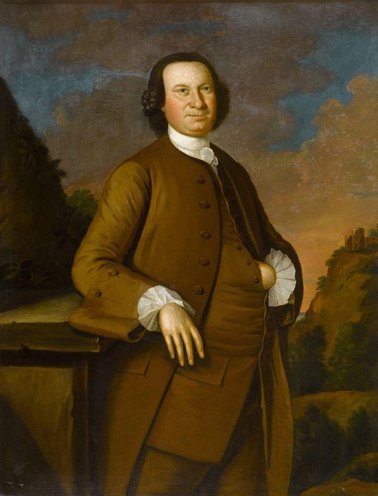 John Hesselius~Thomas Sprigg (1715-1 - Artmaster